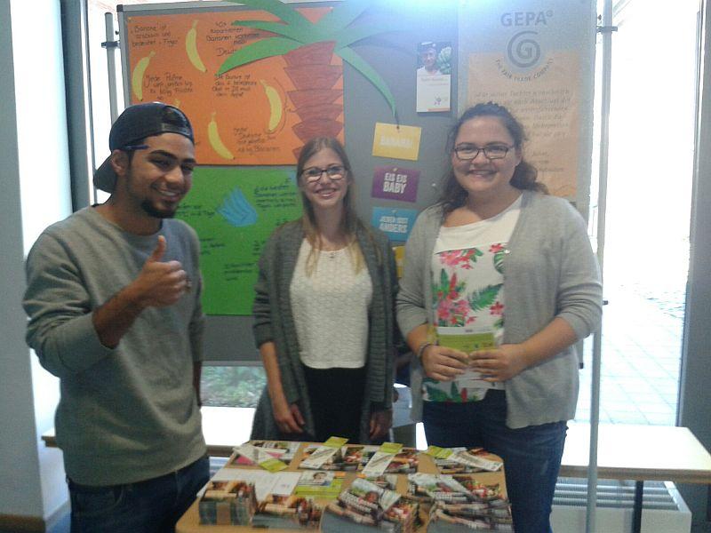 Begeisterung für Fairtrade